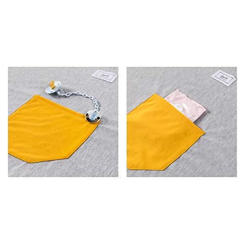 Imagen para Fular portabebés 100% de algodón- Amplio tamaño - Porteo seguro y ergonómico durante la lactancia-¡Pruébelo!