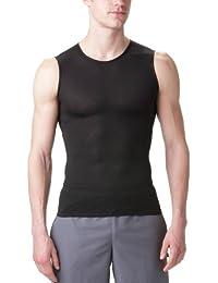 GORE RUNNING WEAR Homme Sous-vêtement Débardeur, Stretch, Respirant, GORE Selected Fabrics, ESSENTIAL BL Singlet, Taille S, Blanc, UESSSI