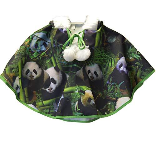 Kostüm Kinder Panda Bär - Krause & Sohn Kinder Kostüm Kleiner Panda Bär TOA TOA Tier Umhang Karneval (98)
