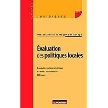 Évaluation des politiques locales