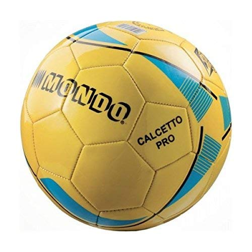 Mondo 13179 Calcetto Pro Pallone di Cuoio Misura 5