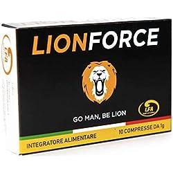 LIONFORCE - 1000 mg formula ExtraForte - Vigore unico, Effetto immediato, Massima Durata, per un Risultato Vincente - 10 compresse