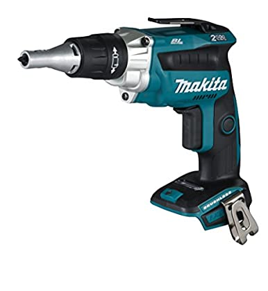Makita DFS250Y1J 2500RPM 18V Negro, Azul cordless screwdrivers/screwguns - Destornillador (18 V, 1500 mAh, 79 mm, 259 mm, 259 mm, 1,6 kg)