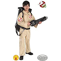 Rubies 's 884320oficial Cazafantasmas Childs Disfraz con hinchable Proton Pack (Tamaño Mediano)