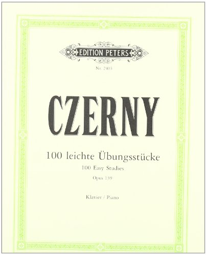 100 leichte Übungsstücke op. 139: für Klavier