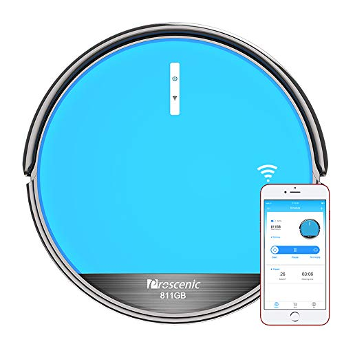 Proscenic 811GB WLAN Staubsauger Roboter(2 in 1: