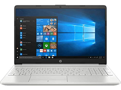 HP Pavilion 15-du1034tu 15.6-inch FHD Laptop (10th Gen i5-10210U/8GB/1TB HDD/Windows 10 Home + MSO 2019), Mineral Silver