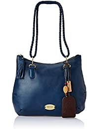 Hidesign E.I Women's Shoulder Bag (Blue)