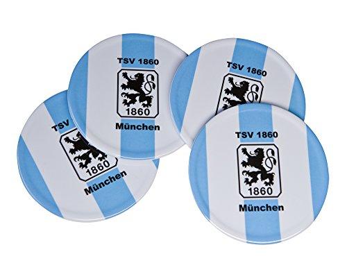 TSV München 1860 Untersetzer (4er-Set)