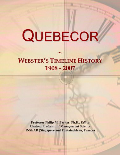 quebecor-websters-timeline-history-1908-2007