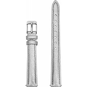 Cluse Damen Uhrenarmband Leder La Vedette Silber Metallic CLS518
