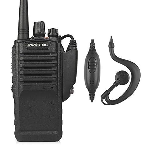 Baofeng BF-9700 Transmetteur UHF 400-520MHz High Range Walkie Talkie plus de puissance 8w Dust And Waterproof Noir EU