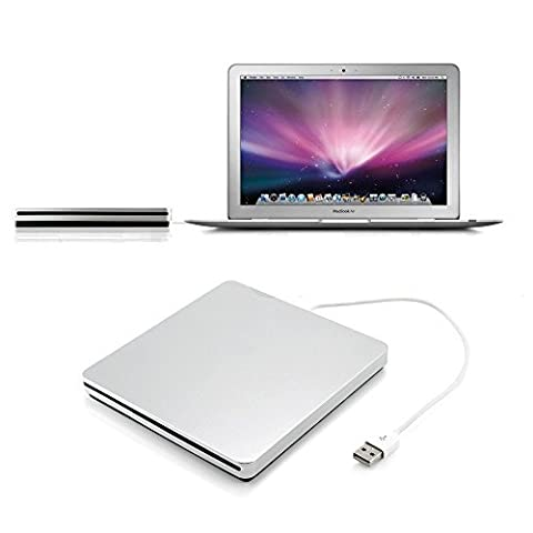 DLAND USB External Slot DVD CD RW Drive Burner Superdrive for Apple Macbook Pro Air iMAC