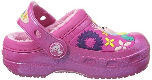 Crocs Dora Lollipops & Flowers Clog, Zoccoli bambine Rosa Rosa Fuchsia