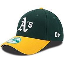 New Era The League 9Forty Adjustable Cap Oakland Athletics Dunkelgrün Gelb 611ce5dbe3