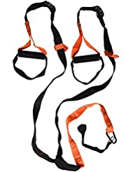 Softee Dynamic Trainer TRX - Cinta, color negro / naranja