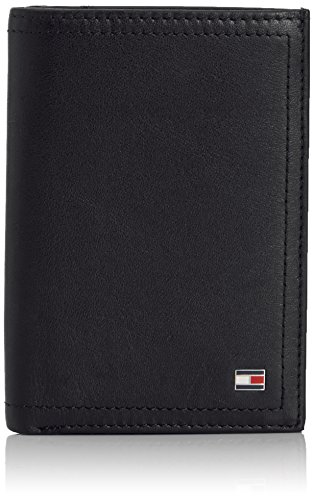 Tommy Hilfiger Herren HARRY N/S WALLET W/COIN POCKET Geldbörsen, Schwarz (BLACK 990), 9x13x2 cm -