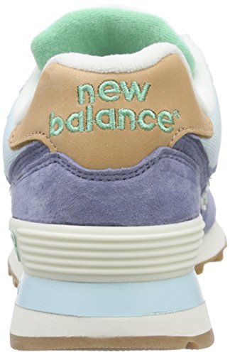 New Balance ml Wl574v1, Baskets Basses Femme Multicolore (Blue/Green)