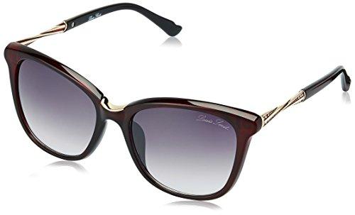 LOUIS SMIT Gradient Cat Eye Women\'s Sunglasses - (LS107 C2|60|Wine Color)