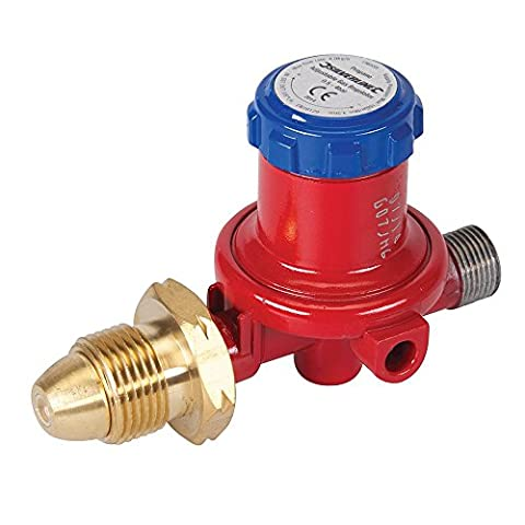 Silverline Adjustable Propane Gas Regulator Plumbers Pipe Fitting Welding Tool