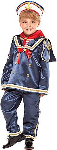Costume di Carnevale da Marinaio Neonato Vestito per Neonato Bambino 0-3  Anni Travestimento Veneziano 9a5ec2c22bc4