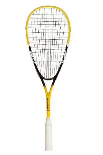 Unsquashable DSP600 Graphit Squashschläger US500 Besaitung zirka 200g gelb/schwarz