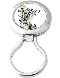Pin cuelga gafas magnetico - Broche cuelga-gafas con iman - Modelo Nuée Papillons