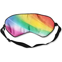 Eye Mask Eyeshade Rainbow Gradient Sleeping Mask Blindfold Eyepatch Adjustable Head Strap preisvergleich bei billige-tabletten.eu