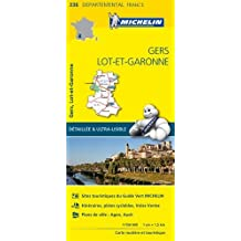 Carte Gers, Lot-et-Garonne Michelin