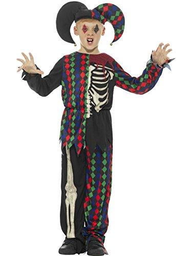 Smiffy 's 48204t esqueleto disfraz de bufón