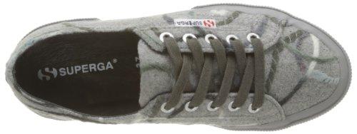 Superga, 2750-FANTASYW 5, Scarpe basse, Donna 916 Lt Grey DK grey
