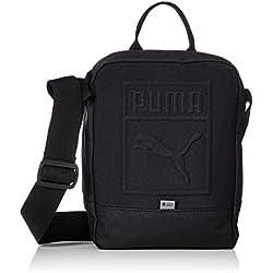 PUMA S Portable Bandolera, Adultos Unisex, Black, OSFA