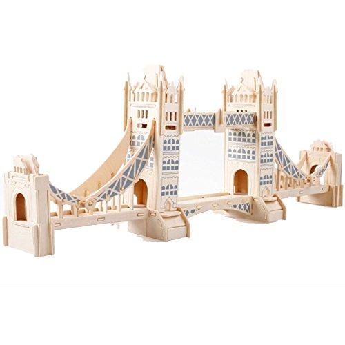 KinderModell Puzzle 3D frühe pädagogische Spielwaren,London Tower Bridge