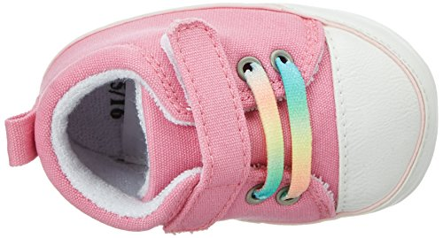 Sterntaler Baby-schuh, Chaussons pour enfant bébé fille Pink (Mandelblüte)