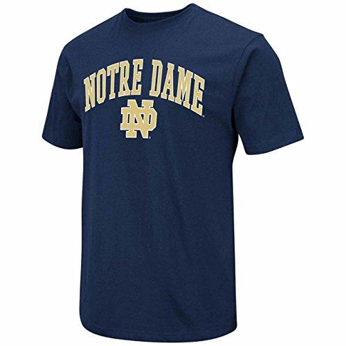 Blau 84Notre Dame Fighting Irish Erwachsene Arch Logo T-Shirt, Marineblau, groß