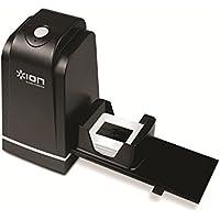 ION Audio Slides Forever - Scanner per Diapositive e Negativi da 35 mm, con Risoluzione a 5 Megapixel, Interfaccia USB e Vassoio di Alimentazione Rapida