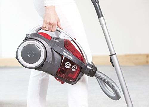 Hoover Whirlwind SE71WR02 Cylinder Vacuum Cleaner without Pets Turbo Brush, 700 W – Grey