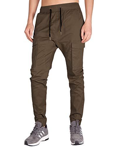 ITALY MORN Pantalon Cargo Jogger Deporte Hombre Algodon