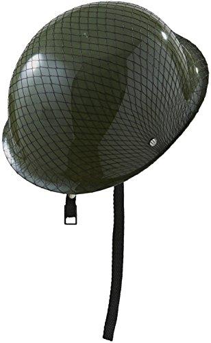 Soldat Helm Kostüm - Widmann 0329u-Elmo-Soldat Modern mit Retina, in Einheitsgröße