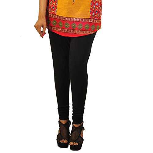 Hash Style Women's Indian Churidar Leggings - Full Length (96% cotton, 4% lycra) (Fits Medium to XL)