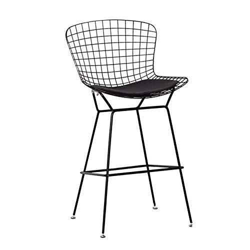 C-K-P Barhocker, Retro Metall Hochstuhl Zähler Metall Barhocker modernen minimalistischen Zähler Freizeit Stuhl -