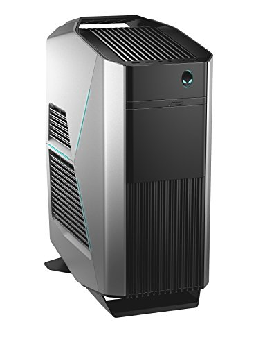 Dell AR7-0569 Alienware Aurora R7 3.2GHz Midi Tower Desktop PC (Intel Core i7-8700, 2000GB Festplatte, 16GB RAM, NVIDIA GeForce GTX 1080, Win 10) silber/schwarz Alienware I7 16gb