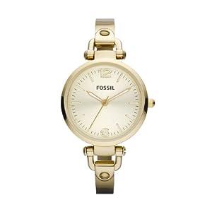 Reloj Fossil ES3084 de cuarzo para mujer con correa de acero inoxidable, color dorado de FOSSIL