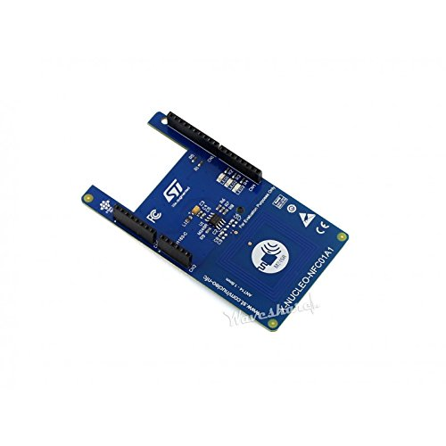 Angelelec DIY Open Sources Sensors, X-Nucleo-NFC01A1, Dynamic NFC Tag Expansion, the X-Nucleo-NFC01A1 is a Dynamic NFC Tag Evaluation Board to Allow Expansion of the STM32 Nucleo Boards, NFC Antenna