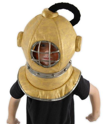 Kostüm Kind Taucher - Taucherglocke Kostüm Kopfteil Taucher