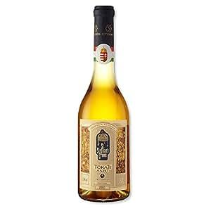 St Stephans Crown Tokaji 5 Puttonyos Sweet Dessert Hungarian White Wine 50cl Bottle