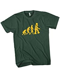 Robot Evolution Mens Premium T-Shirt Choice of 15 Colours Small to 3XL