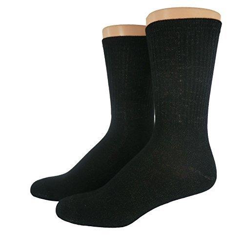 unbekannt-diabetiques-chaussettes-argent-noir-44-46