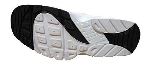Nike Air Trainer Huarache Low, Chaussures de Sport Homme Blanc Cassé - Blanco (Blanco (White/White-Black))