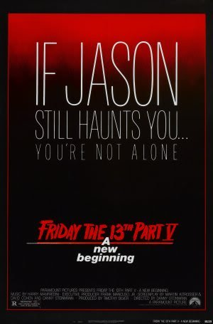 4 IV A New Beginning - Movie Wall Art Poster Print - 43cm x 61cm / 17 Inches x 24 Inches A2 Jason Voorhees ()
